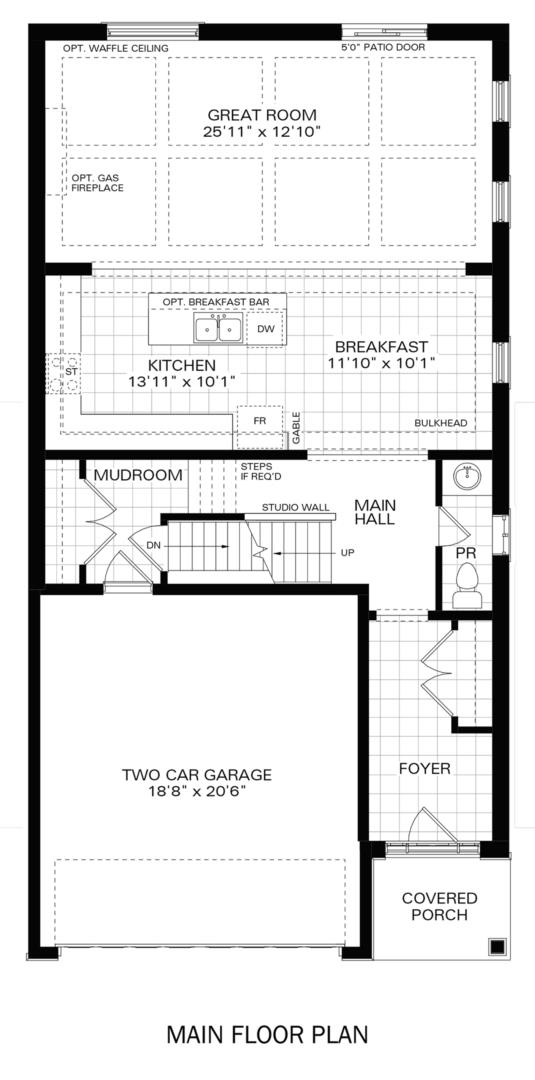 The Knight IV B Floorplan 1