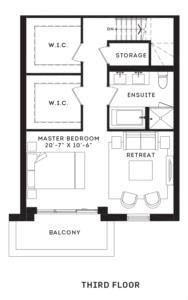The Eglinton Floorplan 3