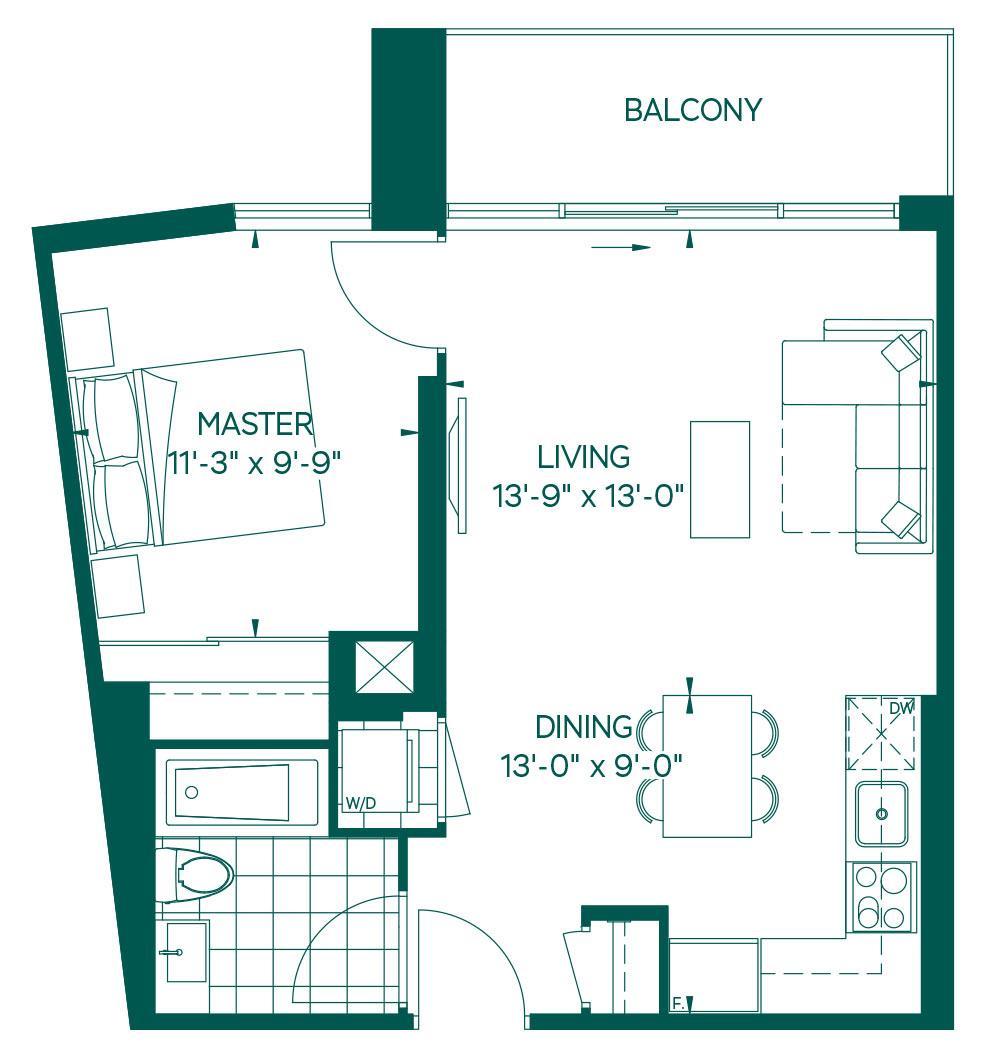 Park Collection - Sangay Floorplan 1