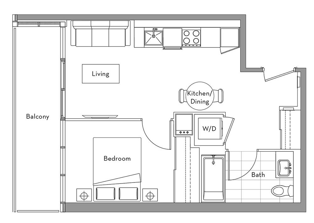 The 360 Collection - 005	 Floorplan 1