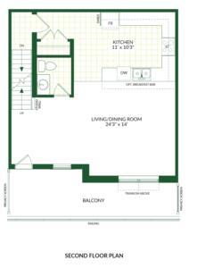The Palmer B, Building G Floorplan 2