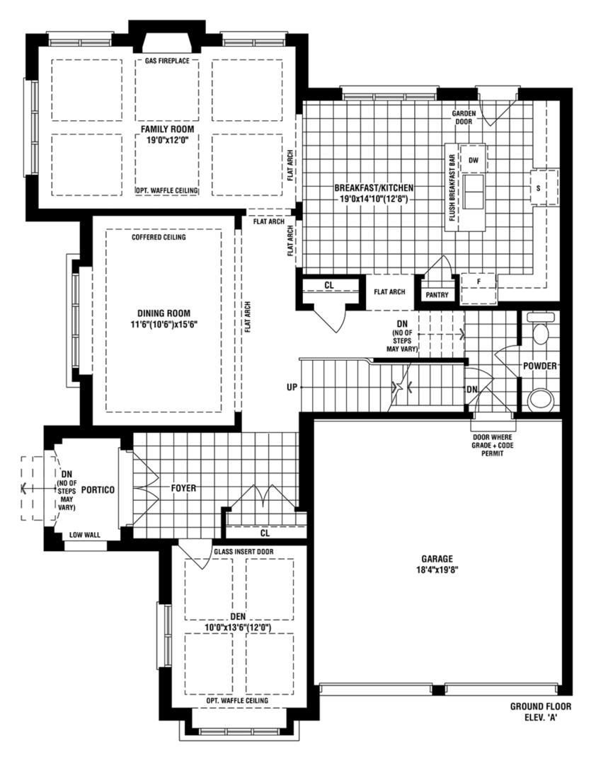 Trillium Floorplan 1