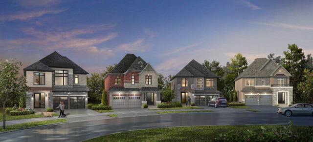 Whitby Meadows by Arista Homes, DECO Homes, Fieldgate Homes, OPUS Homes, and Paradise Developments