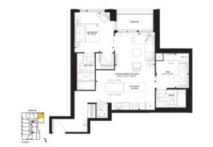 Scenic-A Floorplan 1