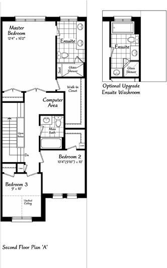 The Belevedere 4 Floorplan 2