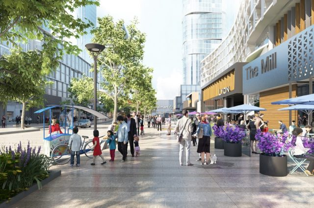 Agincourt Mall redevelopment by North American Development Group