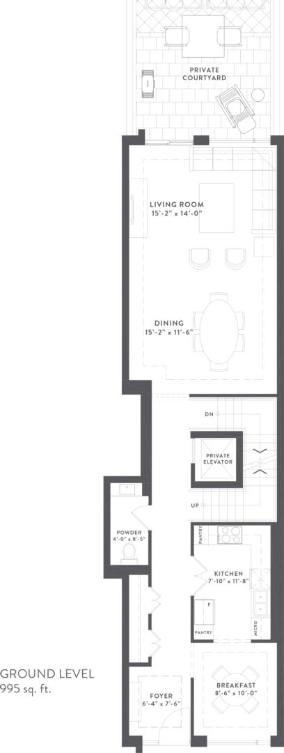 Townhome Collection B Floorplan 2