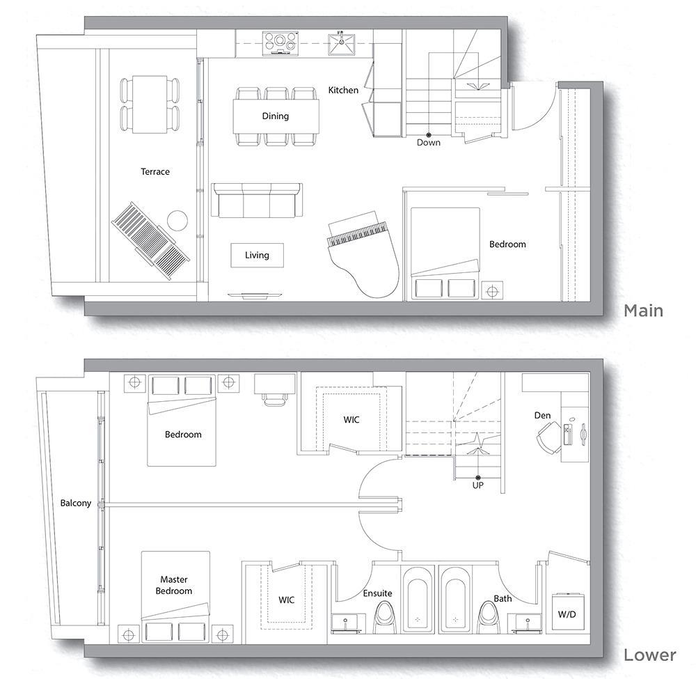 Villa 608 Floorplan 1