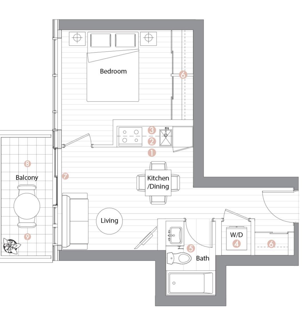 Suite 09 Floorplan 1