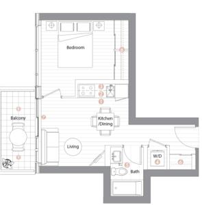 Suite 09 Floorplan 1