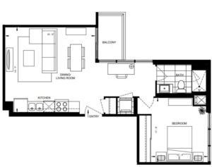 1B-D Floorplan 1