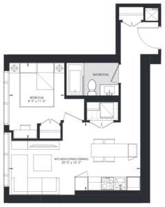 Yorkville 16 Floorplan 1