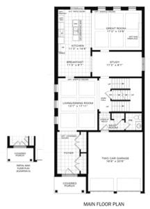 The Vega A Floorplan 1