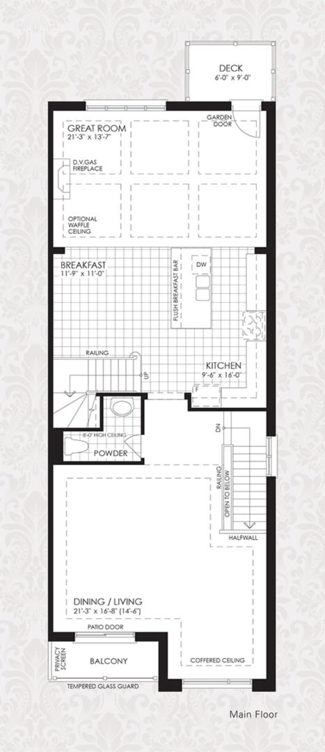 The Cornell Collection - The Cornell 1 Floorplan 3