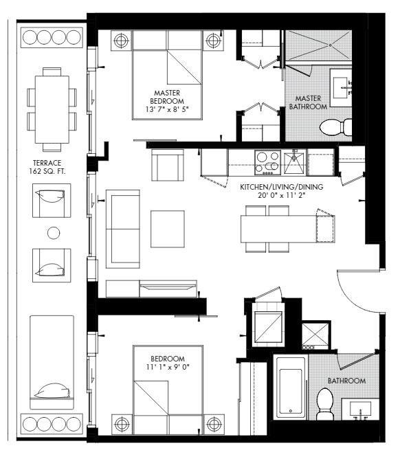 Yorkville 56 Floorplan 1