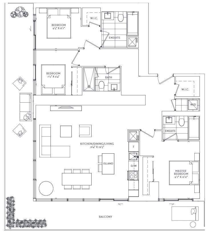 Strait Floorplan 1