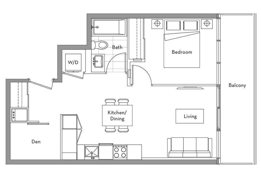 The 360 Collection - 011 Floorplan 1