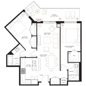 PH-1 Floorplan 1