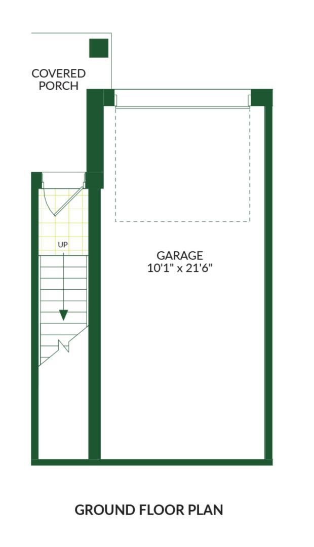 The Carson B, Building G Floorplan 1