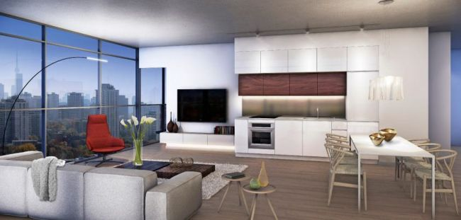 First Interior Rendering of 155 Redpath Image