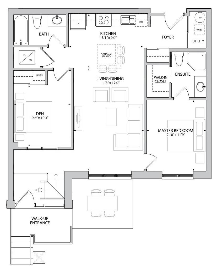 The Grafton Floorplan 1