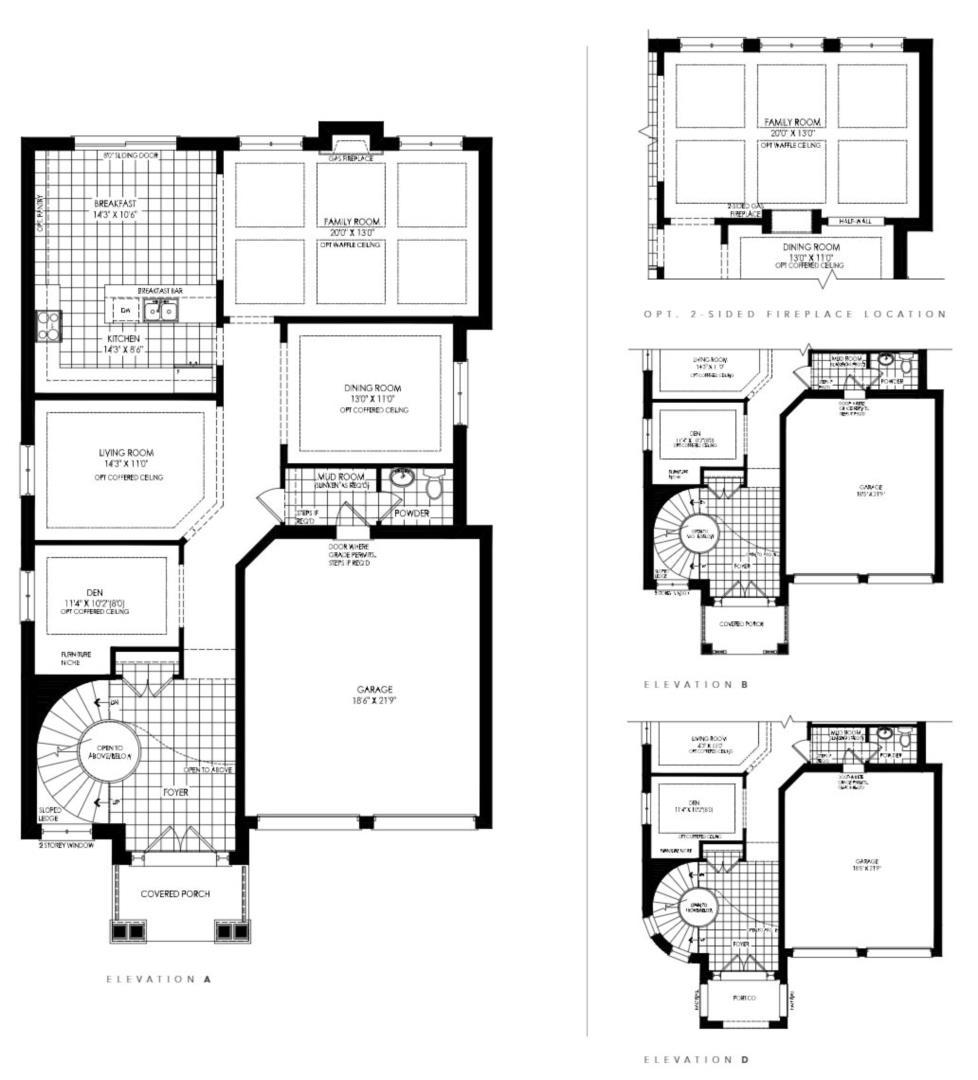 Lot 60 - Summerfield D Floorplan 1