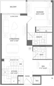 Platinum 2 Floorplan 1