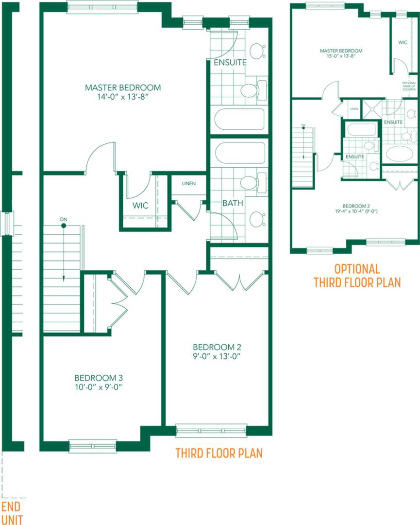 The Amore Floorplan 3