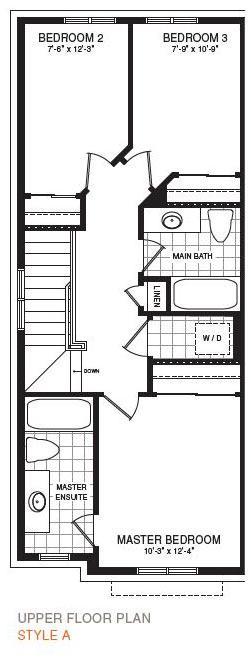 The Hampton End Floorplan 3