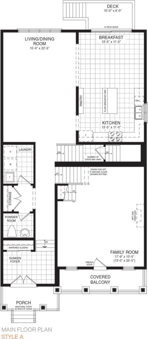 The Hinton Floorplan 1