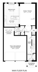 The Rockwell IV A Floorplan 1