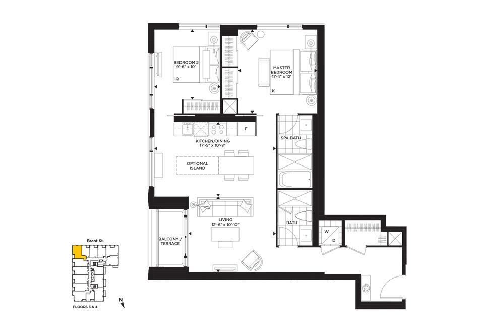 Abstract Floorplan 1