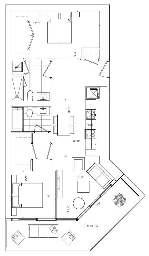 Lagoon Floorplan 1