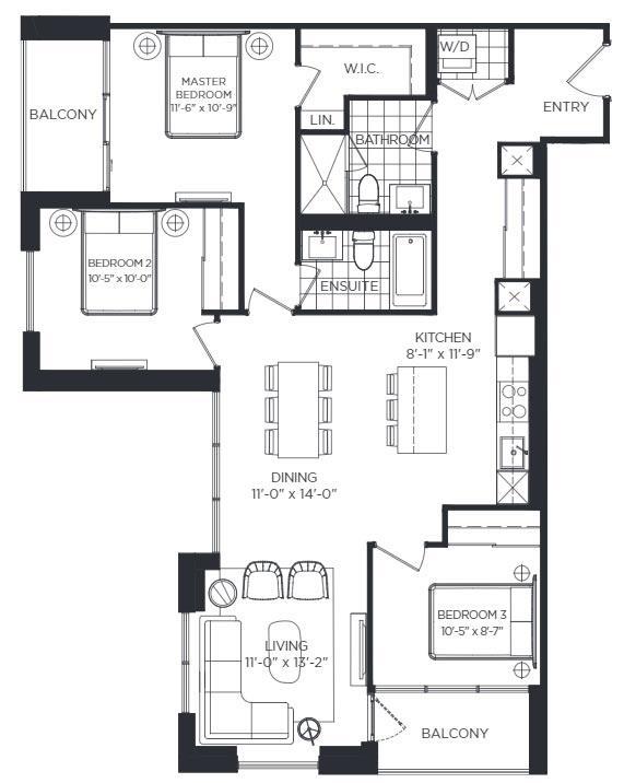 Saint Lawrence Floorplan 1