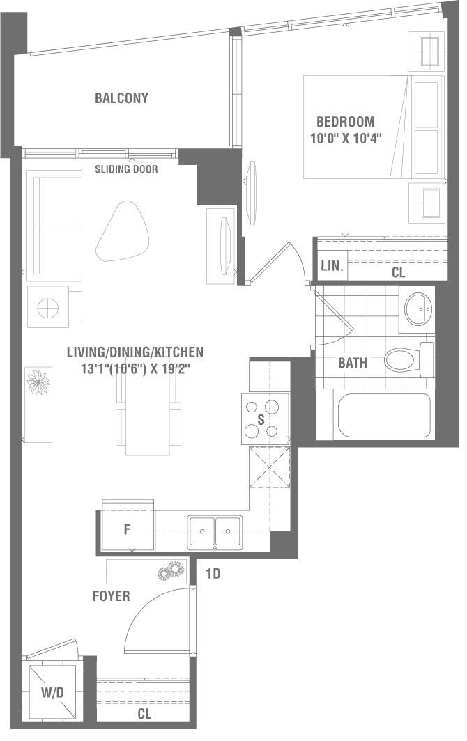 Prosper Floorplan 1