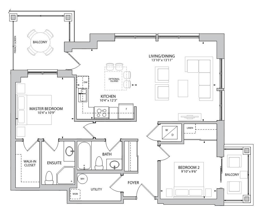 The Kingley Floorplan 1