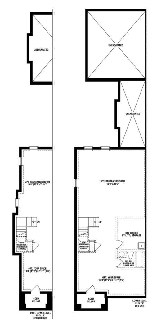 Promenade (End) Floorplan 3