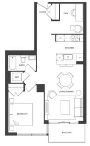 Suite 307/407 Floorplan 1