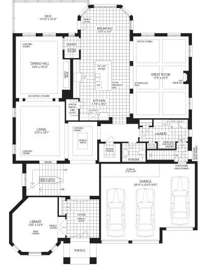 The Hawthorn Floorplan 1