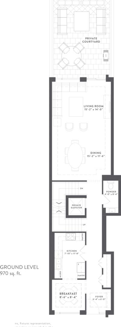Townhome Collection C Floorplan 2
