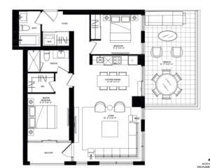 Singapore Podium Terrace Floorplan 1