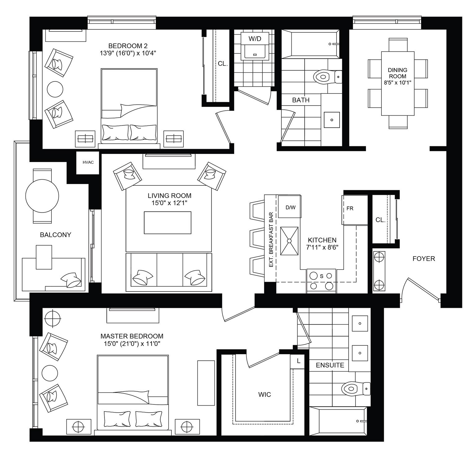Wave Floorplan 1
