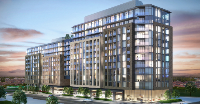 The first rendering of GO.2 Condos in Maple! Image