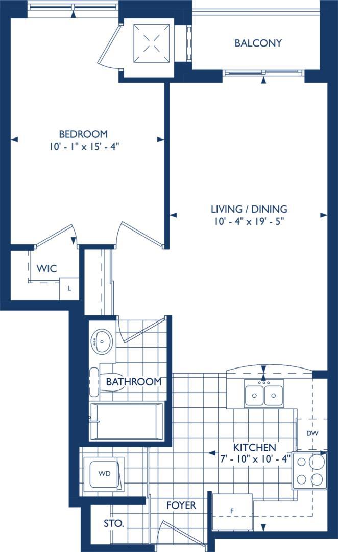 The Surrey Floorplan 1