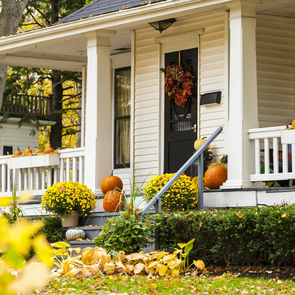 Transition from summer to fall home decor