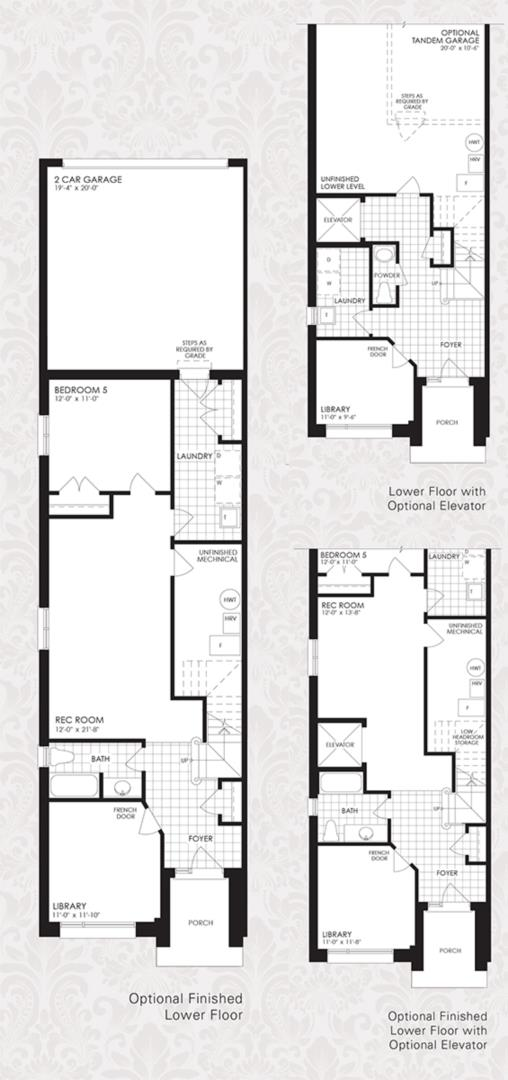 The Oxford Collection - The Oxford 3 Floorplan 4