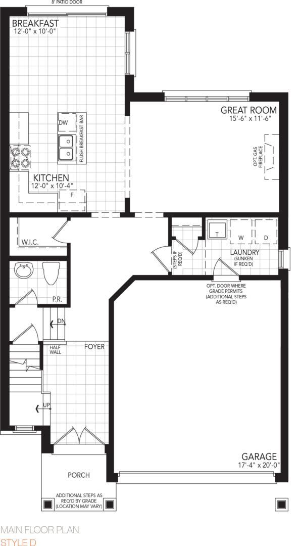 The Springs Floorplan 1