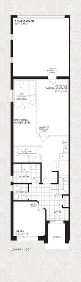 The Oxford Collection - The Oxford 3 Floorplan 1