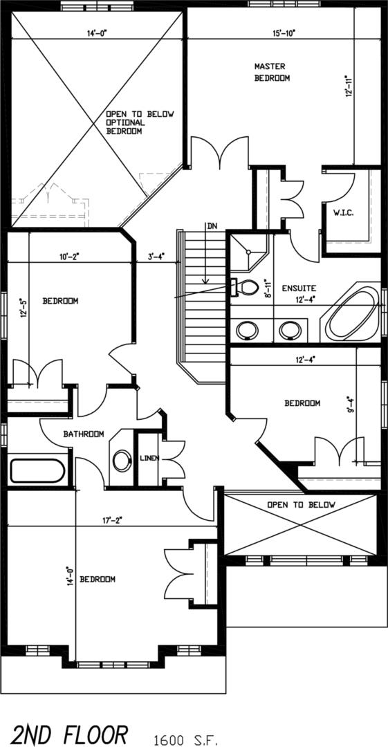 The Rosewood Floorplan 2
