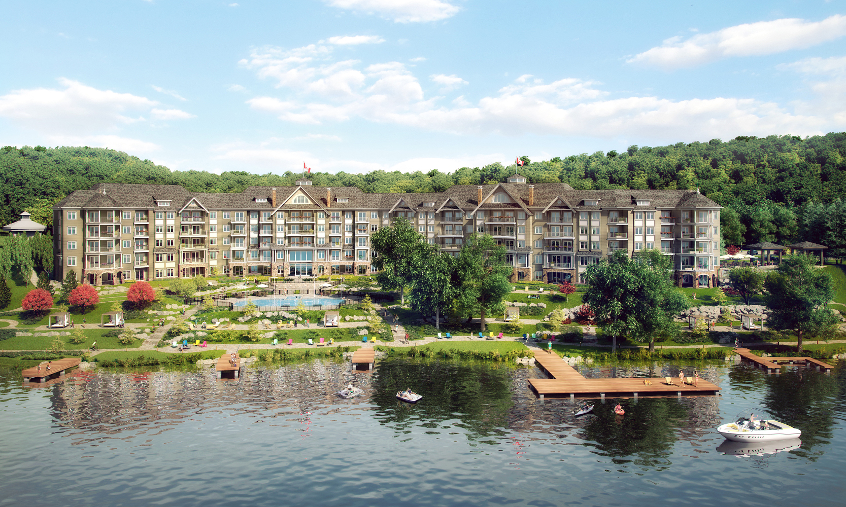 Become a Part of Muskoka History at Lakeside Lodge Image